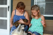 Kailey Sandra Poppi and Kinkajou P