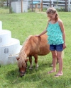 Zo Kailey with Horse