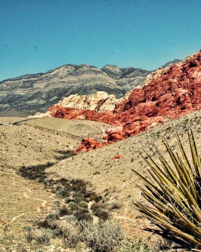 Red Rock Canyon Gully Keystone Thrust compressed